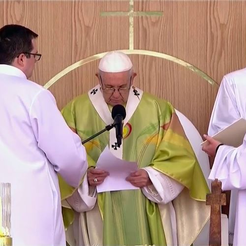 """Nous demandons pardon..."" Les fortes paroles du pape François"